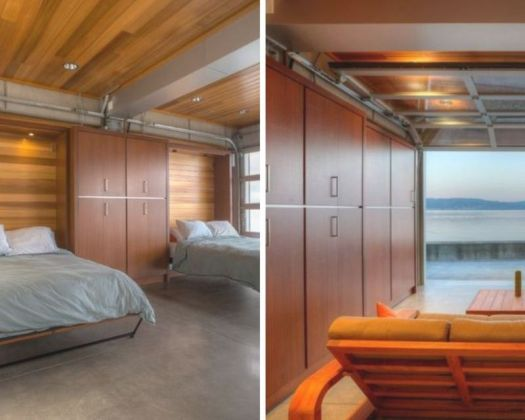 Murphy bed - space