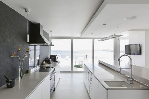 You can save money creating a galley kitchen