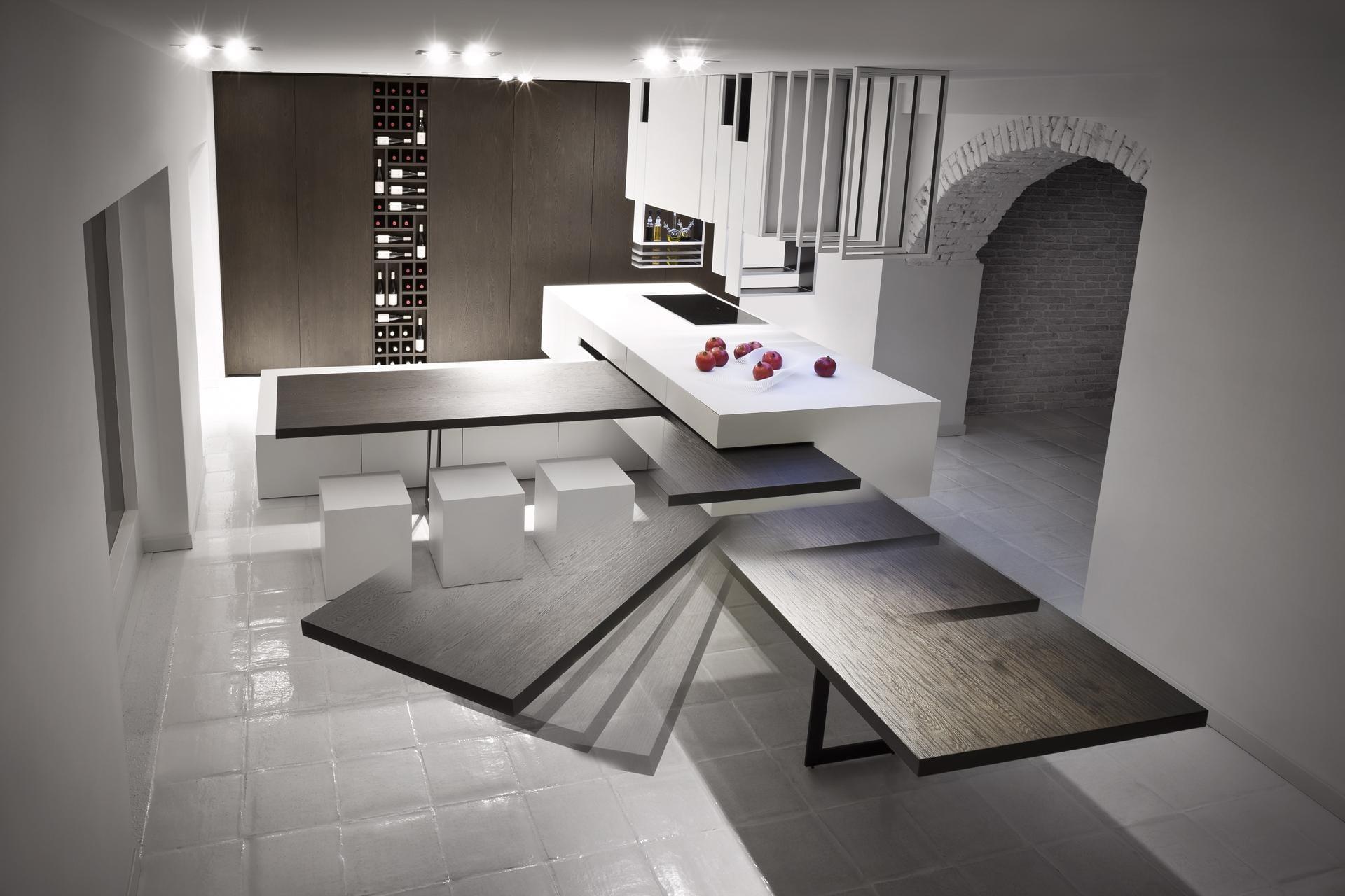 Eine Moderne Kochinsel Fur Luxuriose Kuchen