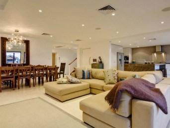 luxury hotel living room