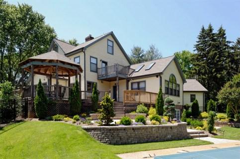 luxury exterior home
