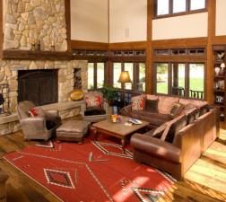 rug design red colour