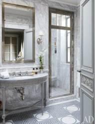Sumptuous Marble Bathroom Design Photos 12