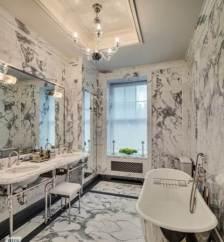 Sumptuous Marble Bathroom Design Photos 18