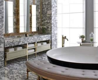 Sumptuous Marble Bathroom Design Photos 40