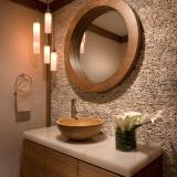 wooden mirror design