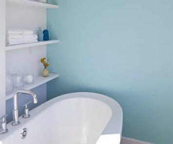 Interior bathroom design