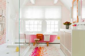 10 Ways to Add Color Into Your Bathroom Design-3
