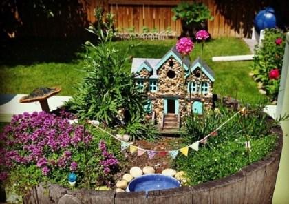 Adorable Fairy Garden Designs