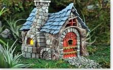 Bakery House Fairy Garden