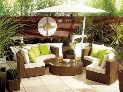 Elegant Outdoor Patio Furniture Decoration