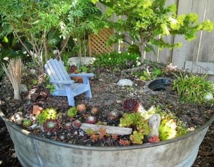 Fairy Garden On Big Pot