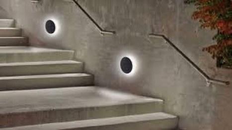 Led Ceiling Lighting Lights On Ladder