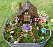 Movable Fairy Garden On Pot