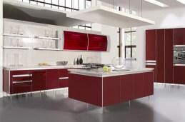Black White And Red Kitchen Design Ideas #6572 | Baytownkitchen With Regard To Black, White And Red Kitchen Design