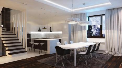Black White Kitchen Curtains Black And White Kitchen Curtains For Black, White And Red Kitchen Design