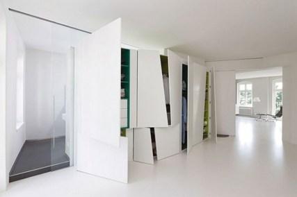 Home Decor & Interior: White Slide Door Wardrobe Designs Modern In Stuart: Cool And Modern Wardrobe With Refined Door Design