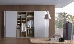 Home Decor & Interior: White Slide Door Wardrobe Designs Modern Inside Cool And Modern Wardrobe