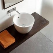 Matty Round Wash Basin Intended For Unique Round Wash Basin