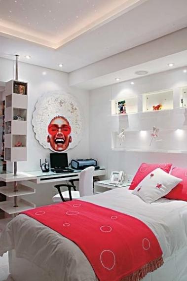 Room Designs Girly Interior By Shijo Sebastian Pertaining To Stunning Girly Interior By Shijo Sebastian