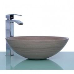 White Marble Stone Round Wash Basin Throughout Unique Round Wash Basin Design By Agape