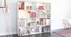 Brickbox Shelve Design
