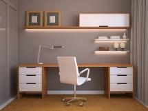 Unique Desk Shelving