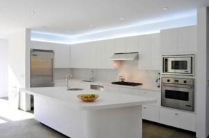 Adorable Minimal Super Stylish White Kitchen Throughout Minimal White Kitchen