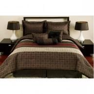 Bedding Modern Geometrical Pattern For Modern Chocolate Beddign For Modern And Unique Bedding