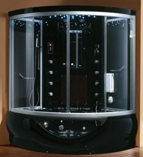 Corner Bathtub And Shower Combination With Regard To Corner Whirlpool Shower