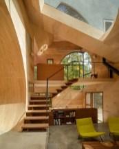 Creative House With An Unusual Geometric Shape In New York In Home Geometric Shape Design