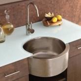 Kitchen Inspiring Kitchen Design Idea With Modern Brown Cabinet Inside Brilliant Drain Shows Your Water Consumption