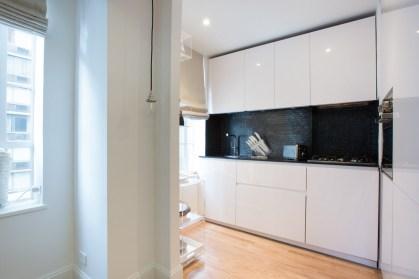 Minimal Super Stylish White Kitchen Inside Minimal White Kitchen