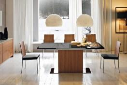 Minimalist Dining Room Furniture With Minimalist Modern Table