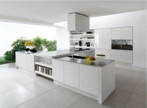 Modern Minimal Super Stylish White Kitchen With Minimal Super Stylish White Kitchen