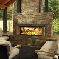 Outdoor Gas Fireplace Patio Regarding Unusual Outdoor Fireplace