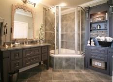 Small Corner Whirlpool Tub Shower Bathroom Modern With Basket Bath Pertaining To Corner Whirlpool Shower