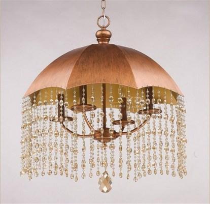 Umbrella Lamp Chandelier Romantic Modern Minimalist Living Room Bedroom In Wonderful Lamp Chandelier With An Umbrella