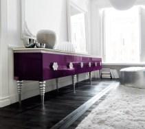 Violet Interior Design For Glamorous And Modern With Violet Interior Design