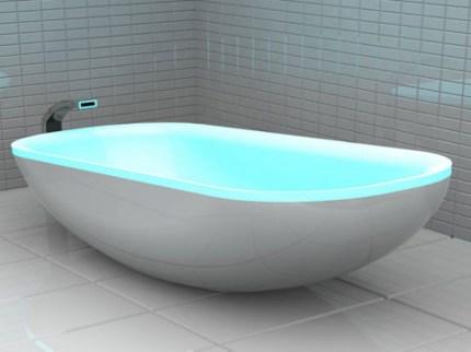 Led Glowing Bathtub With LED Glowing Bathtub