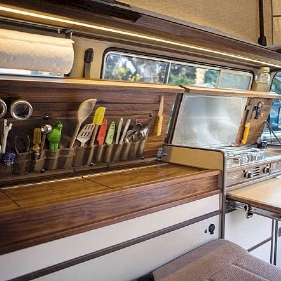 Homemade Camper Interior Designs For