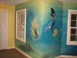 Bedroom Wall Mural Mermaid