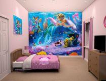 Bedroom Wall Murals Mermaid