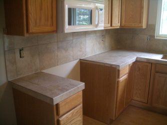 Ceramic Tile Kitchen Countertops