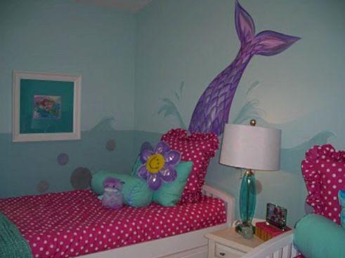 Girls Mermaid Room