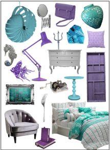 Little Girl Mermaid Room Decor