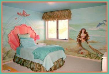 Little Mermaid Girls' Bedroom