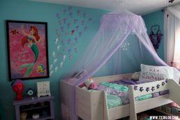 Little Mermaid Themed Girls Room