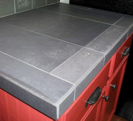 Porcelain Tile Countertop
