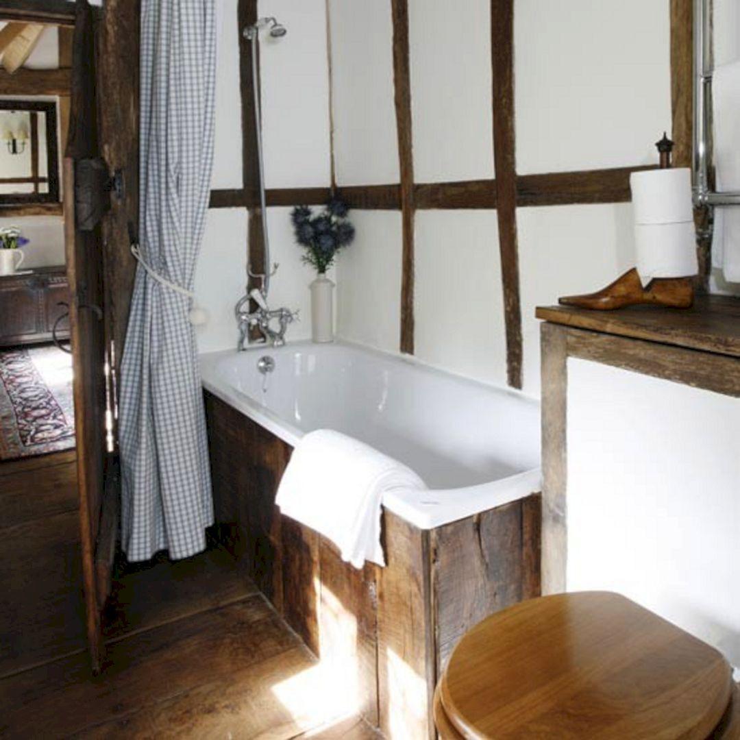 Rustic Small Bathroom Design Ideas